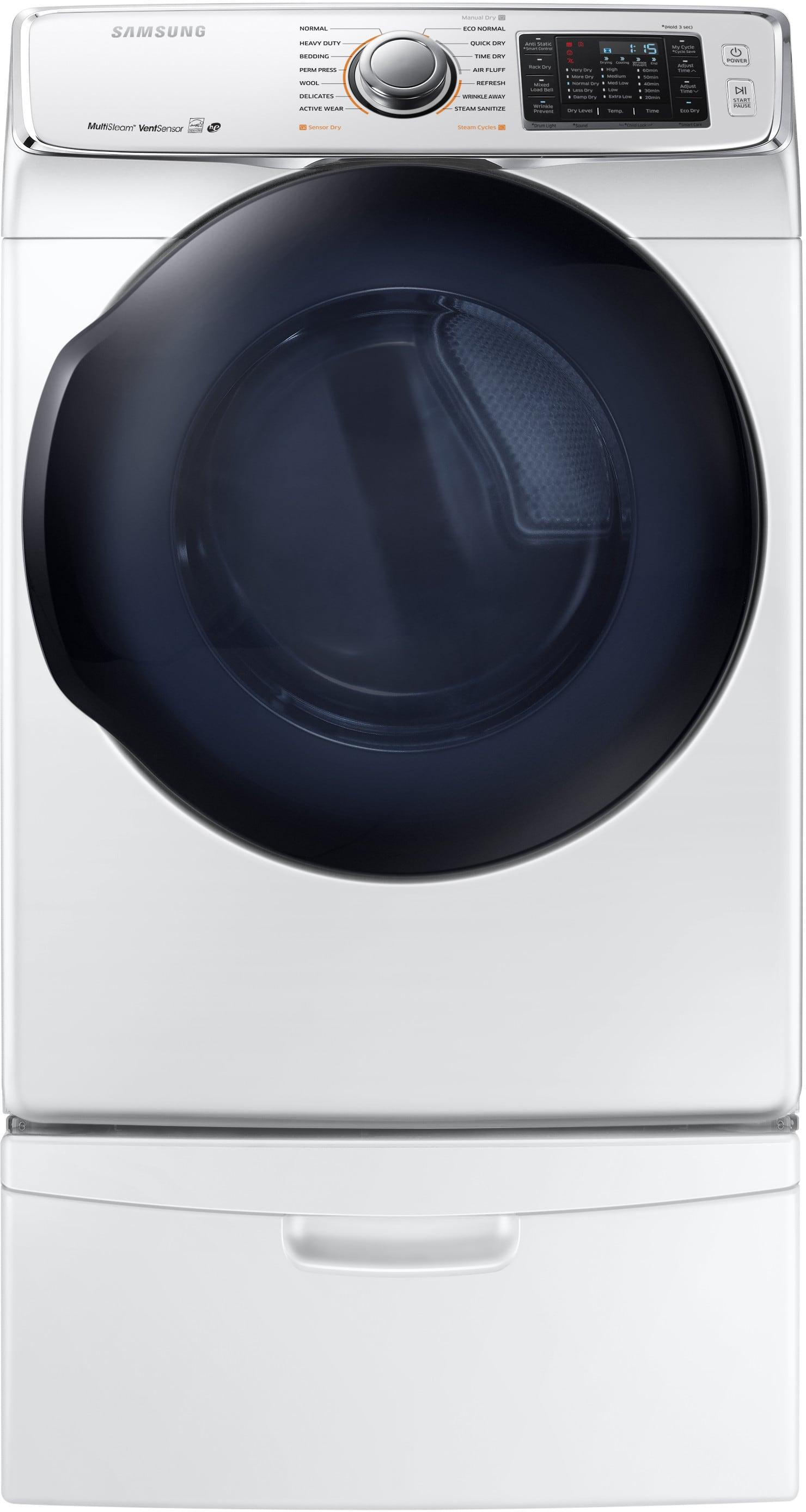 Samsung Dv50k7500ew 27 Inch 7 5 Cu Ft Electric Dryer