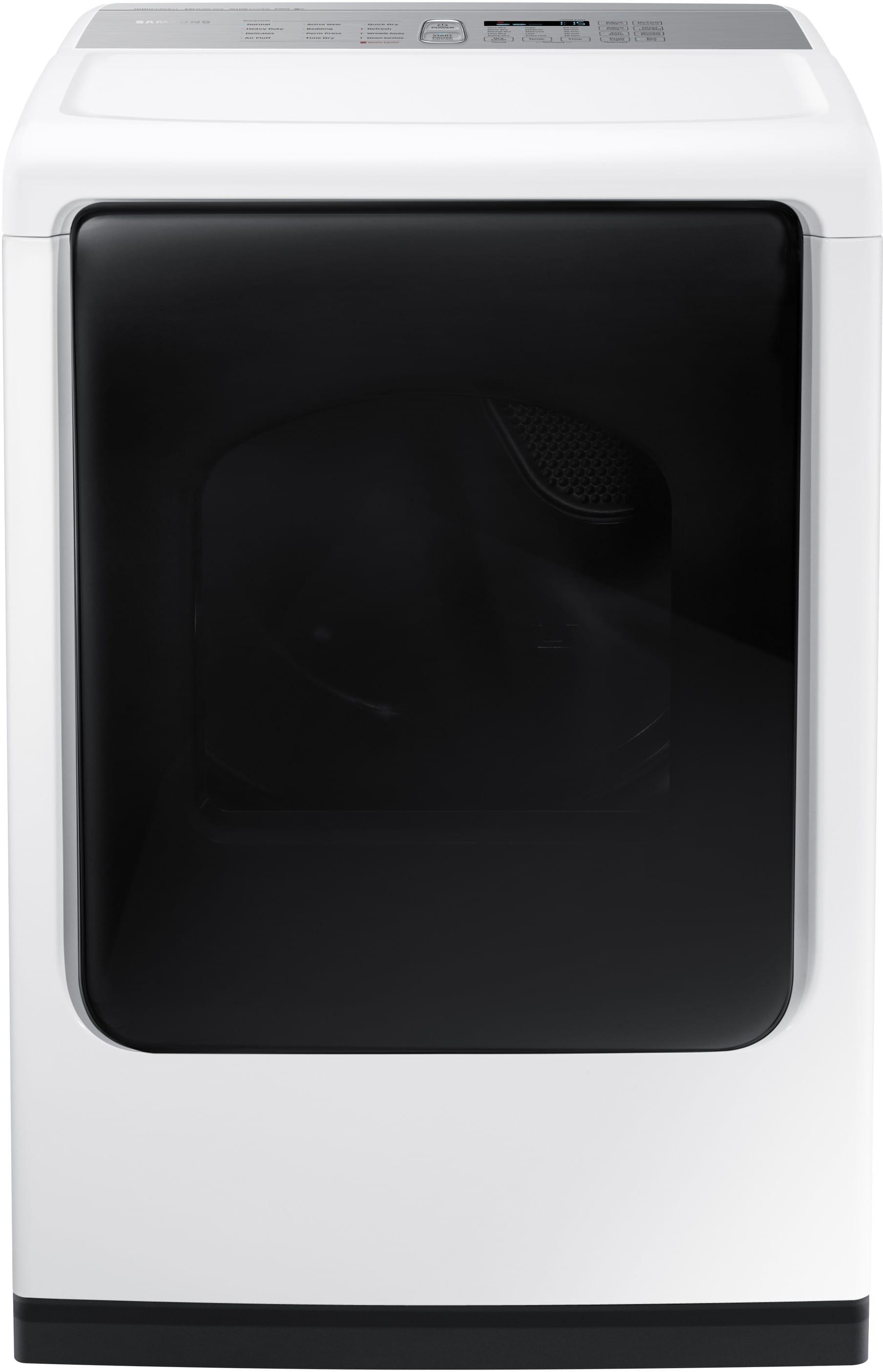 Samsung Dv50k8600gw 27 Inch 7 4 Cu Ft Gas Dryer With 12