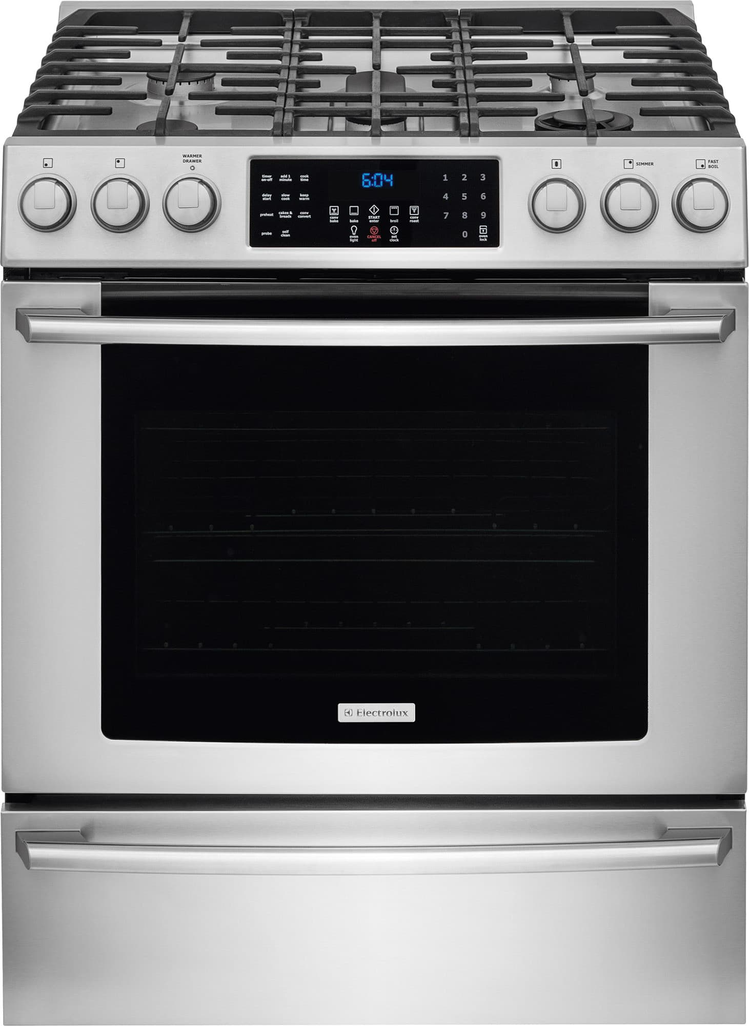 Electrolux EI30GF45QS 30 Inch Freestanding Gas Range with Perfect ...