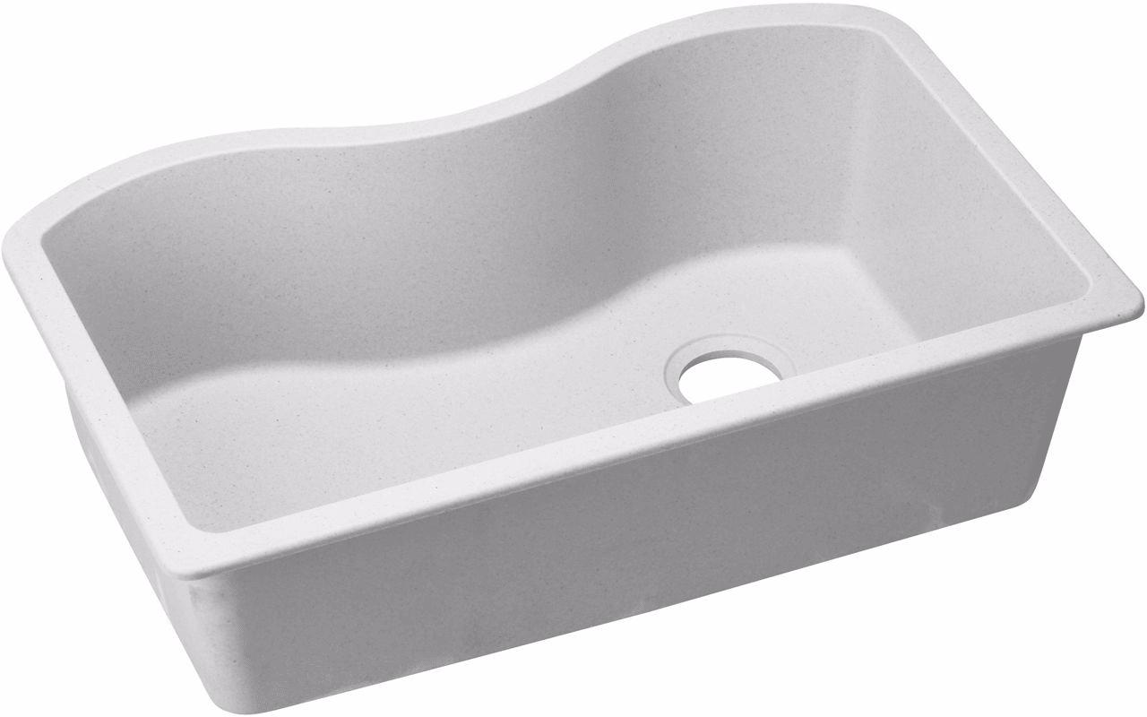 Elkay ELGUS3322RWH0 33 Inch Undermount Sink with E-Granite ...