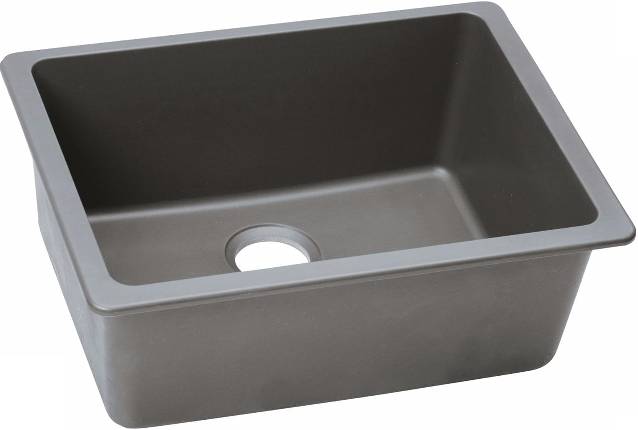 Elkay ELGU2522GS0 25 Inch Undermount Sink with E-Granite ...