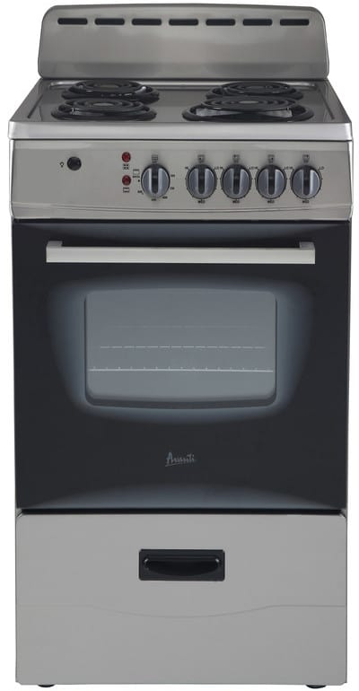 Avanti Er20p3sg 20 Inch Freestanding Electric Range With 4