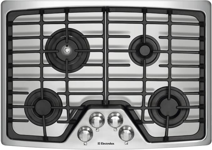 electrolux cooktop. electrolux wave-touch series ew30gc55gs - stainless steel cooktop