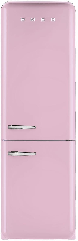 Smeg Fab32upkrn 11 7 Cu Ft Bottom Freezer Refrigerator