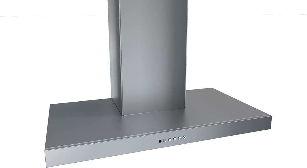 36 inch wall mount range hood powder coated faber stil36ss300b 36 inch wall mount hood with speeds 2level led lighting 25 sones 10 minute intensive speed setting 15 auto shutoff