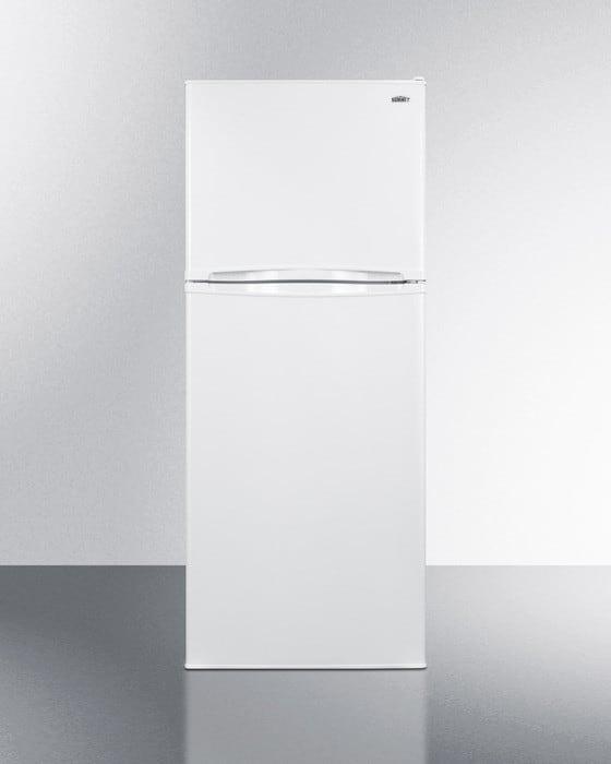Summit Ff1075w 24 Inch Top Freezer Refrigerator With 9 8