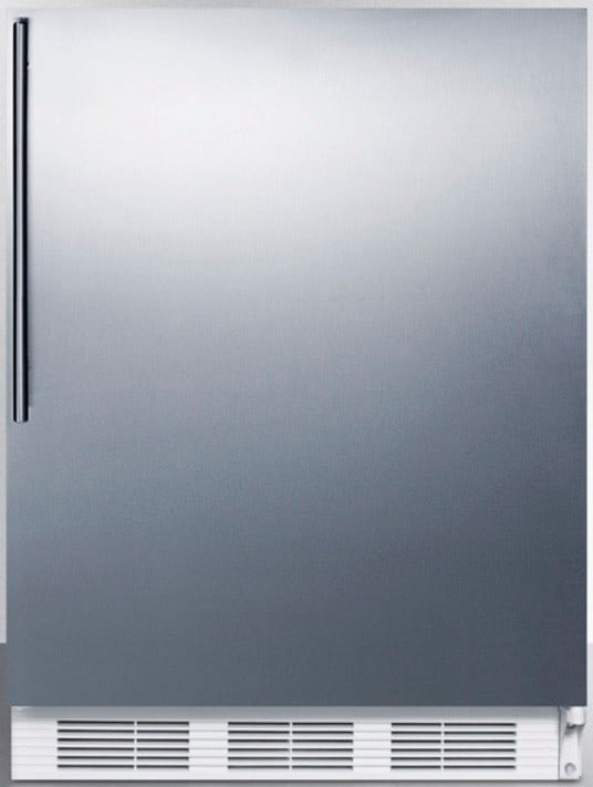 Accucold Ff7bisshv 24 Inch Built In Compact Refrigerator