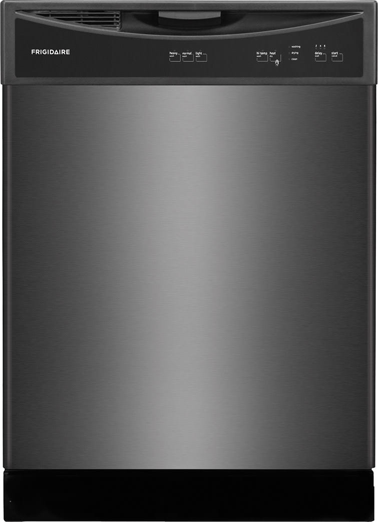 frigidaire ffbd2406nd full console dishwasher with readyselect spacewise silverware basket control lock hitemp wash filter