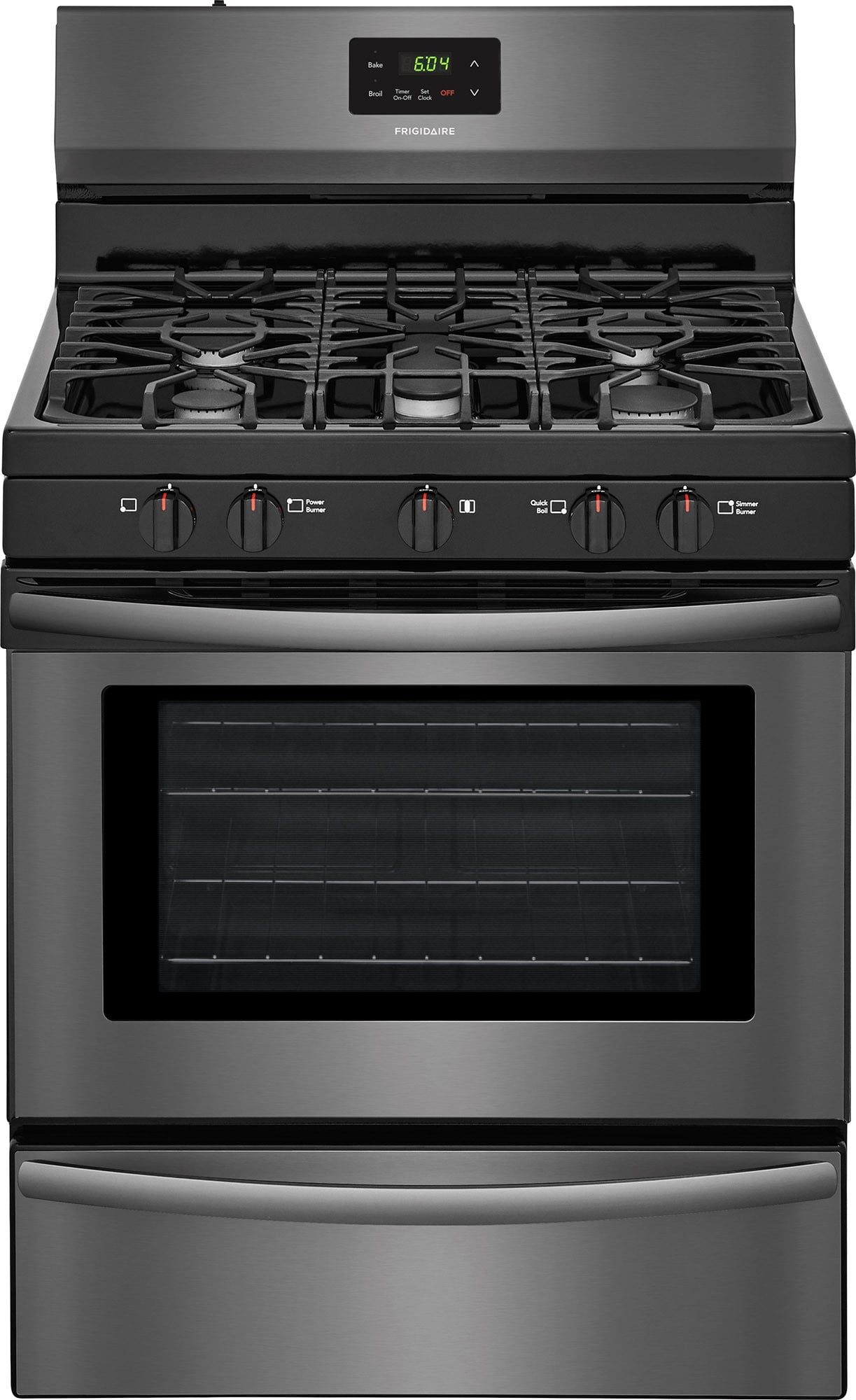 Frigidaire Ffgf3052td 30 Inch Freestanding Gas Range With