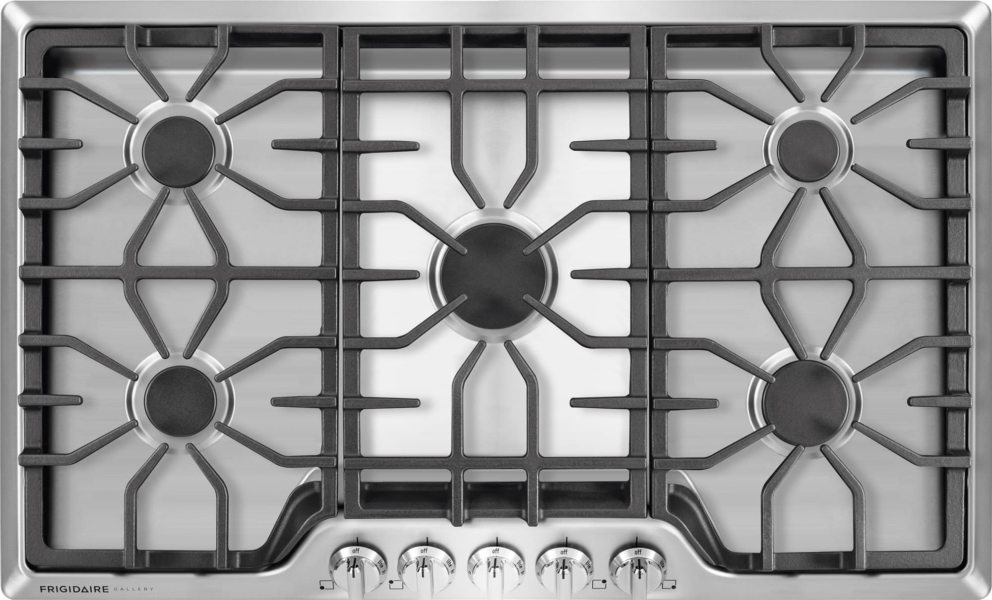 Frigidaire Fggc3645qs 36 Inch Gas Cooktop With 5 Sealed
