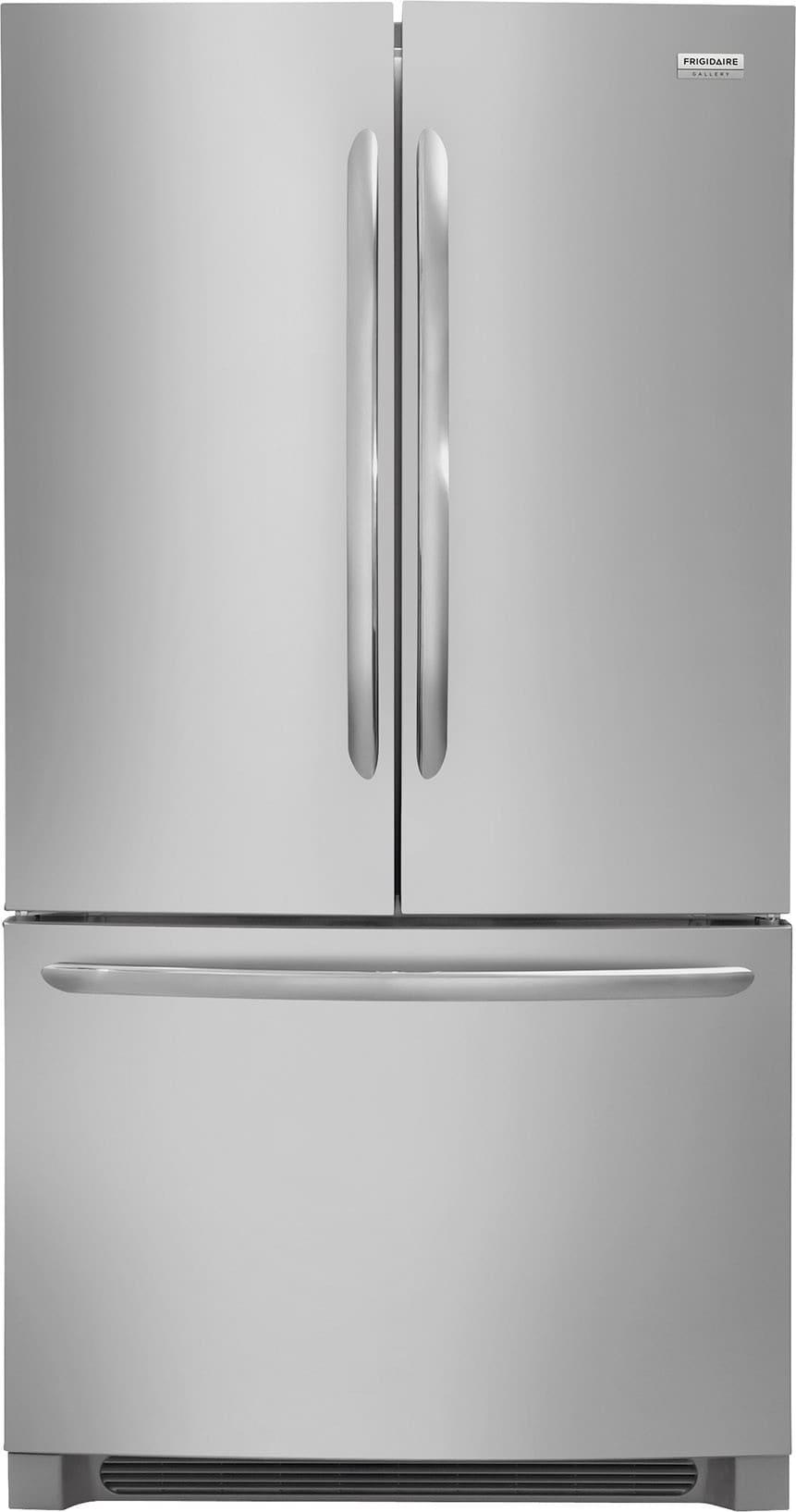 Frigidaire Fghg2368tf 36 Inch Counter Depth French Door Refrigerator With Adjustable Interior