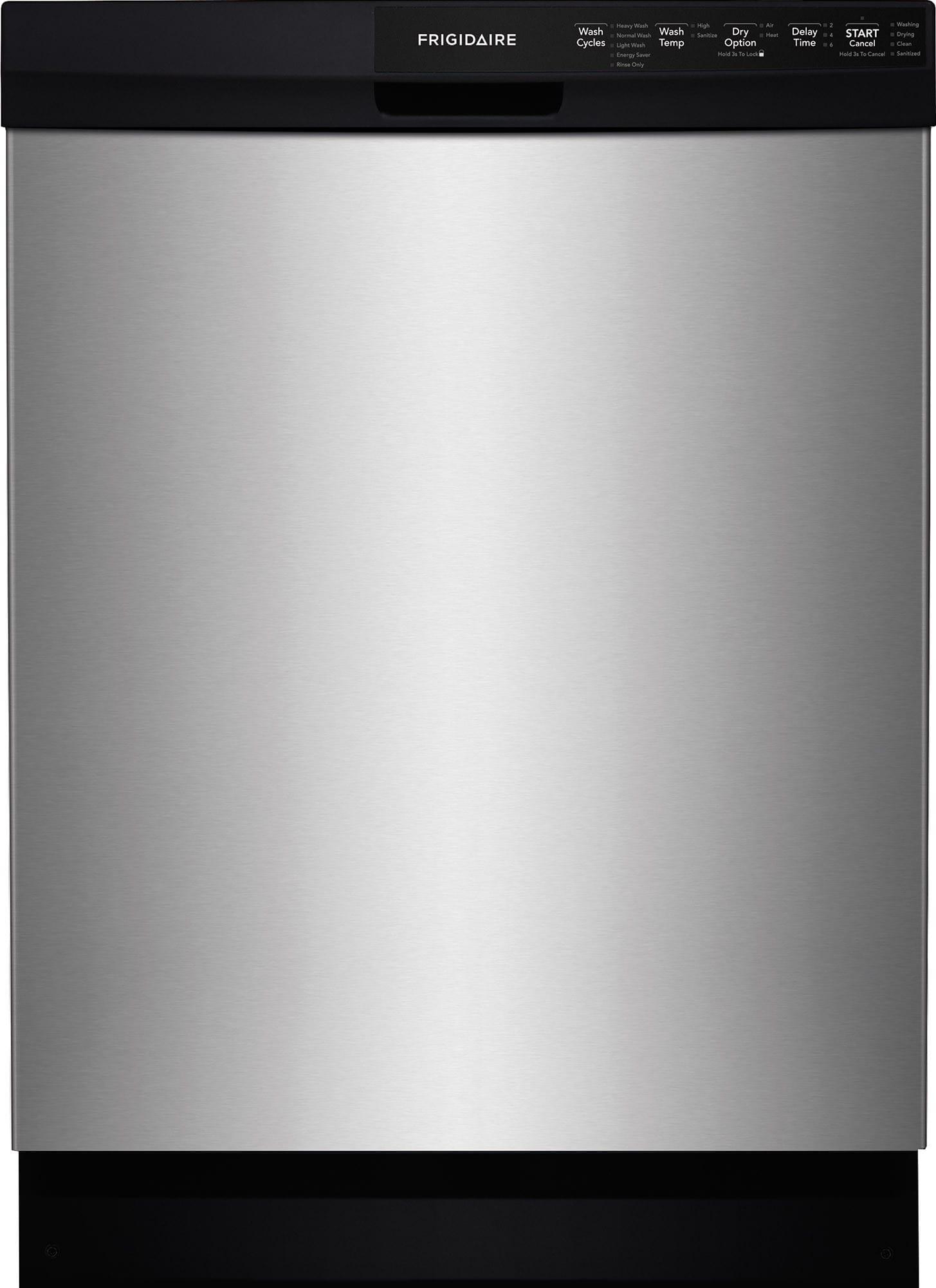 Frigidaire Ffbd2412ss Full Console Dishwasher With