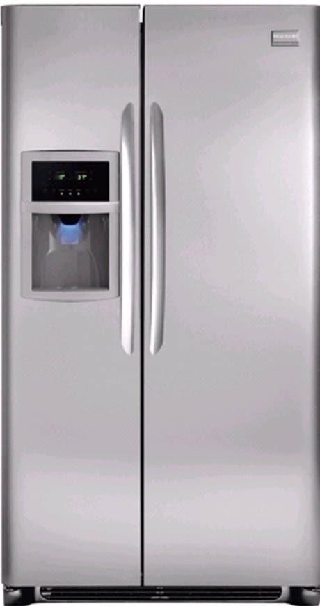 Frigidaire Fgus2642lf 26 Cu Ft Side By Side Refrigerator