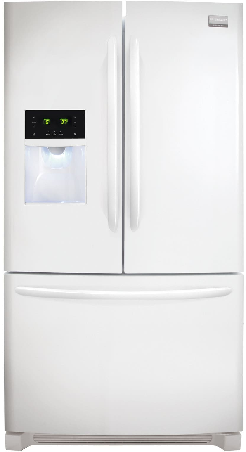 Frigidaire FGHB2866PP 36 Inch French Door Refrigerator with Cool Zone  Drawer, Quick Freeze, Energy Star, 27.8 cu. ft Capacity, Adjustable  SpillSafe Shelves, ...
