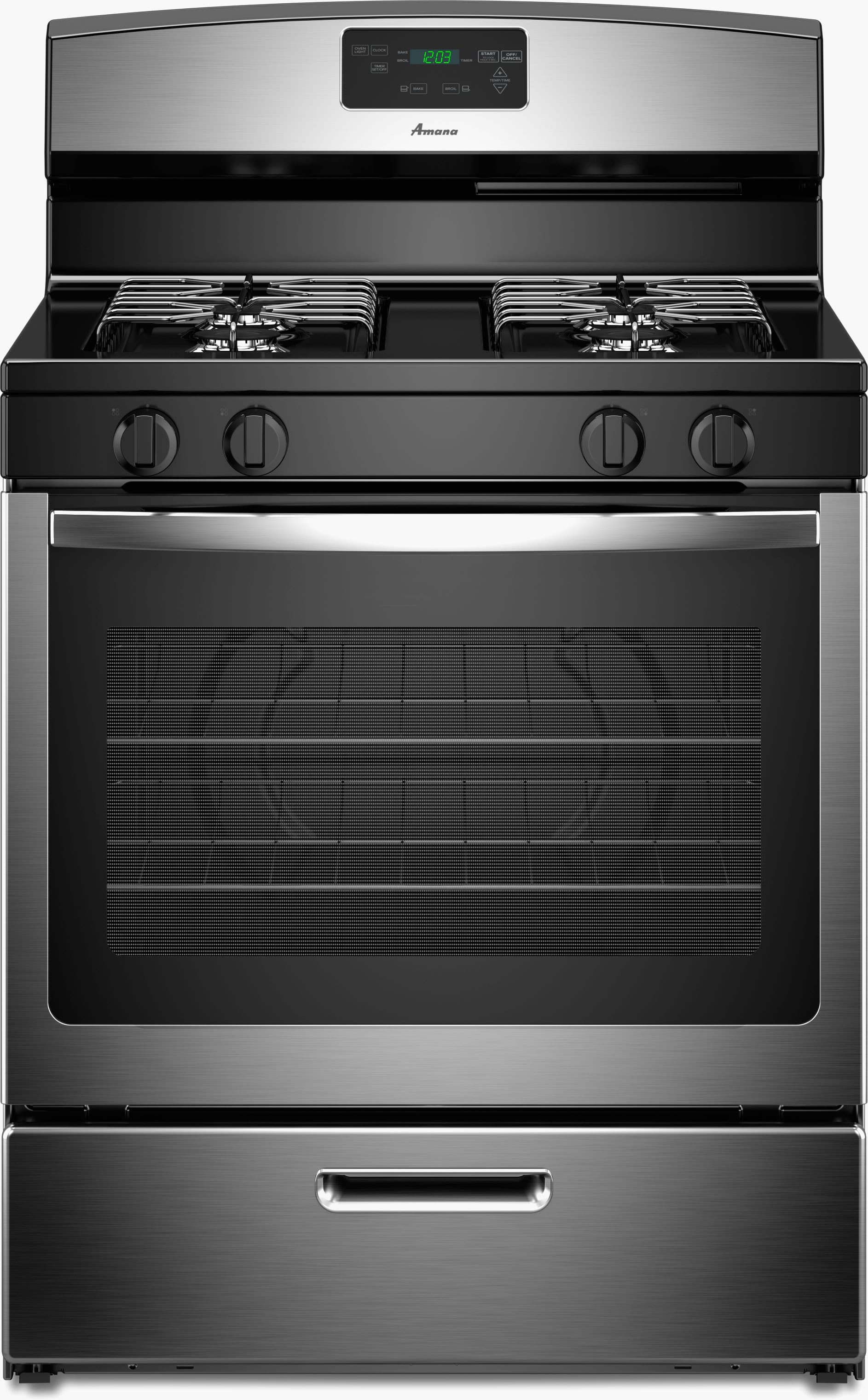 Amana Agr5330bas 30 Inch Freestanding Gas Range With