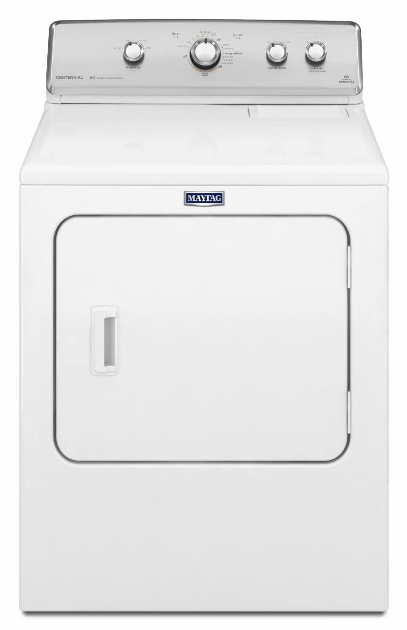 Maytag Medc555dw 29 Inch 7 0 Cu Ft Electric Dryer With 12 Drying