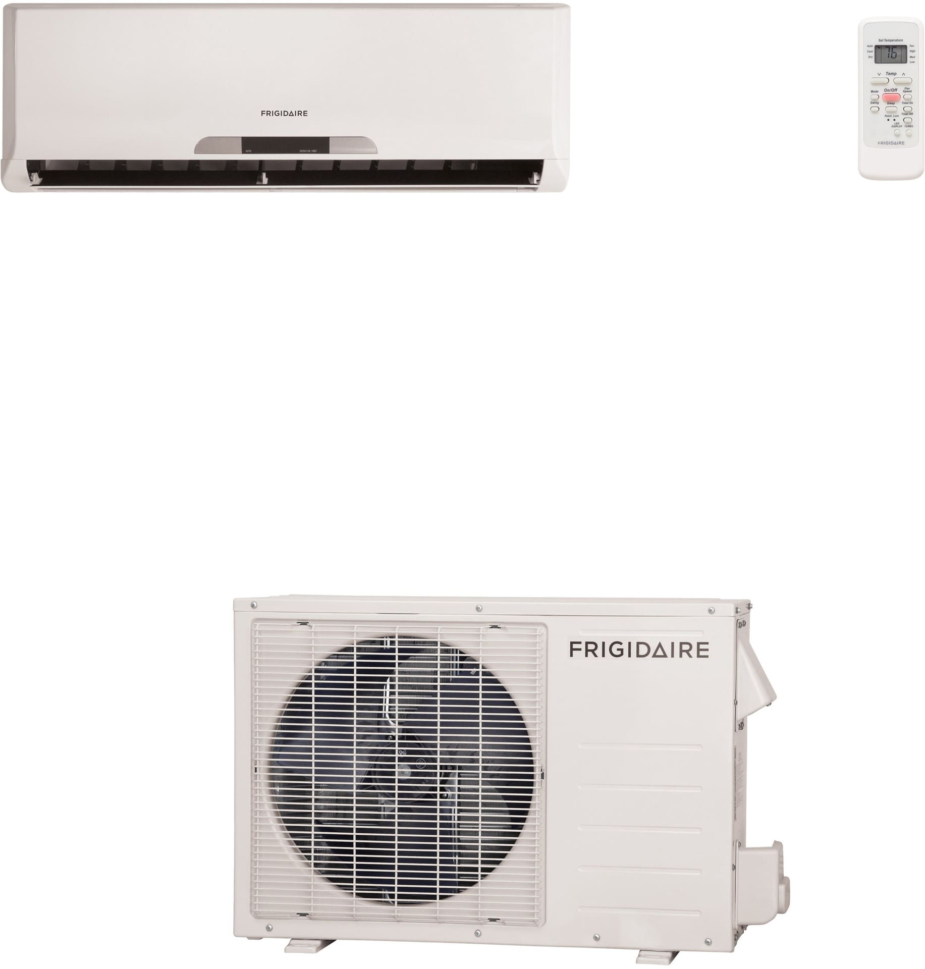 frigidaire frs123ls1 btu single zone wallmounted mini split air system with 550 sq ft cooling area r410a refrigerant 330 cfm - Frigidaire Ac Unit