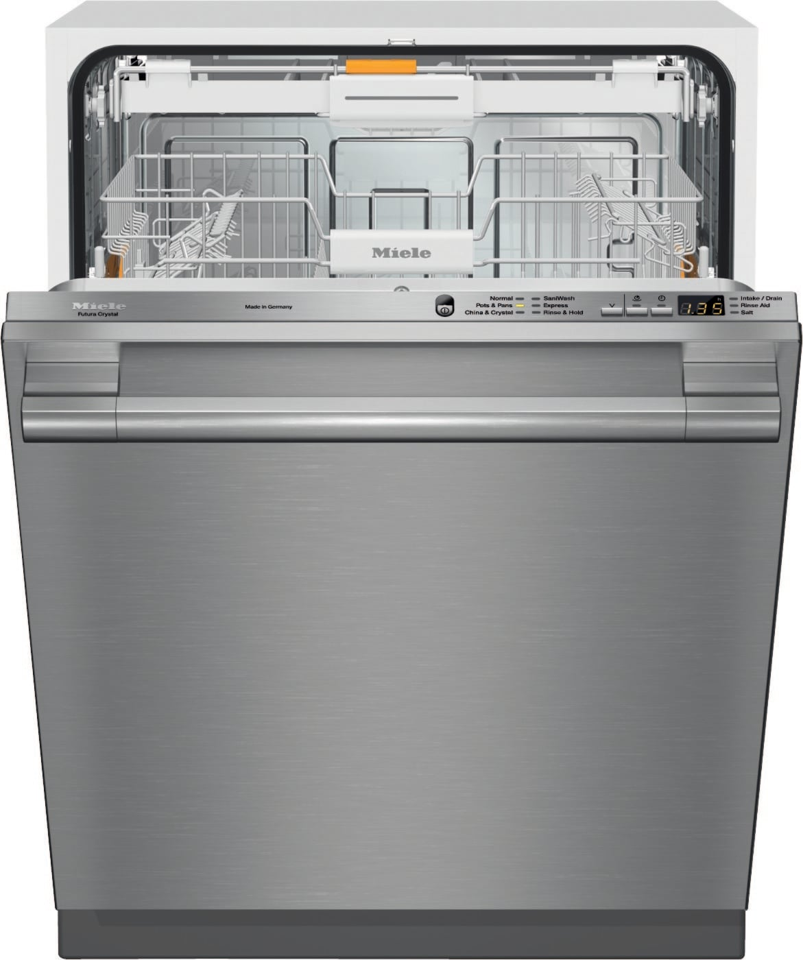 Miele G6165scvi Fully Integrated Dishwasher With 6 Wash