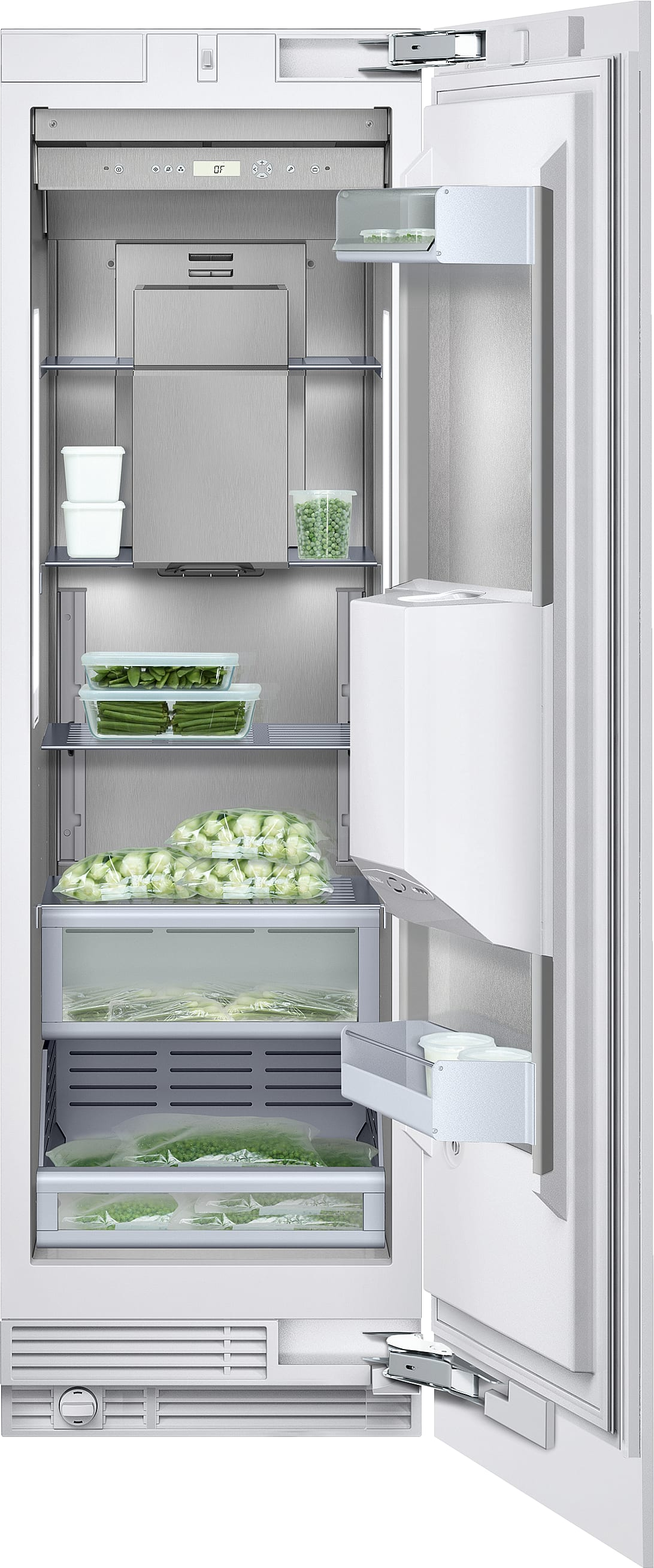 Gaggenau Rf463702 24 Inch Built In Freezer Column With Ice