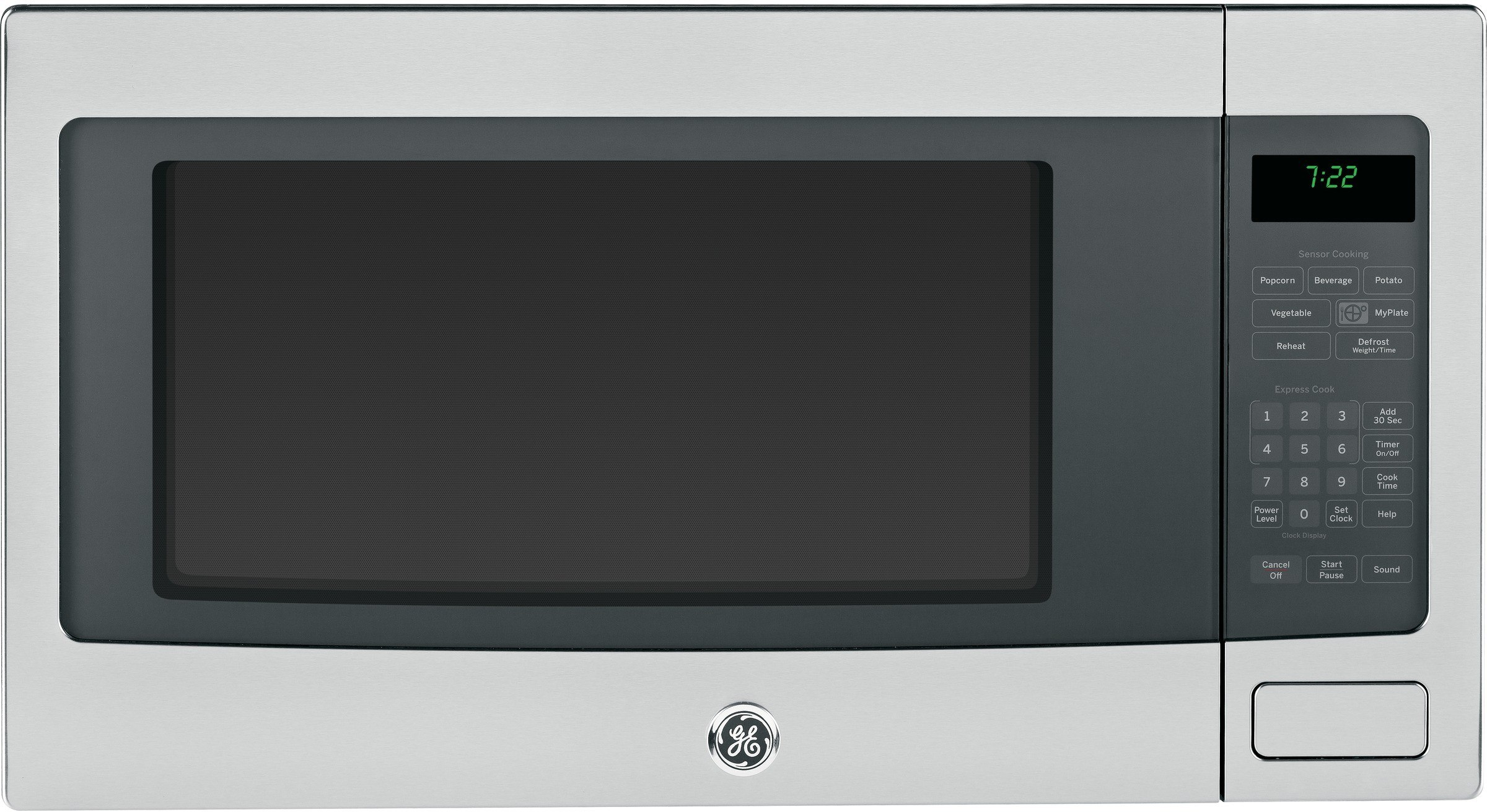 Ge Peb7226sfss 2 2 Cu Ft Countertop Microwave Oven With