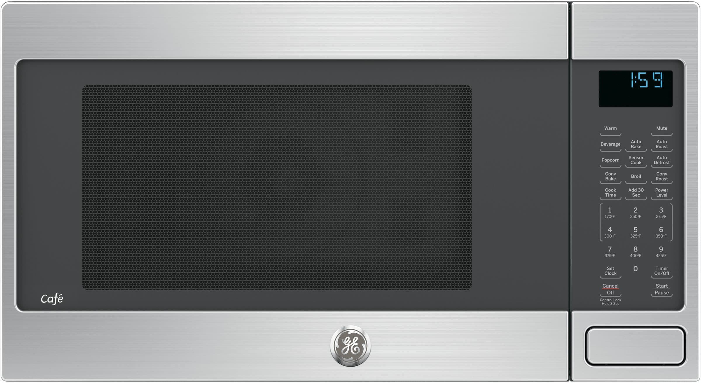 Ge Ceb1599sjss 1 5 Cu Ft Countertop Microwave With