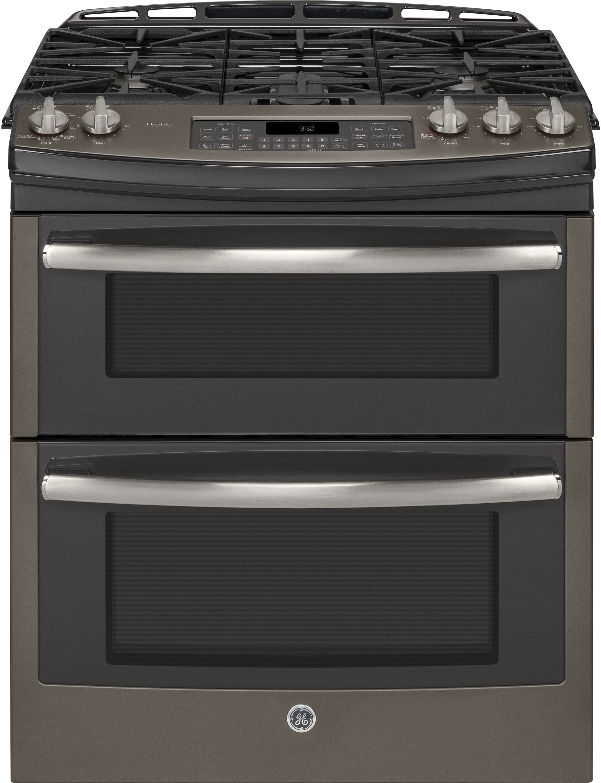 Ge Pgs950eefes 30 Inch Slide In Double Oven Gas Range With
