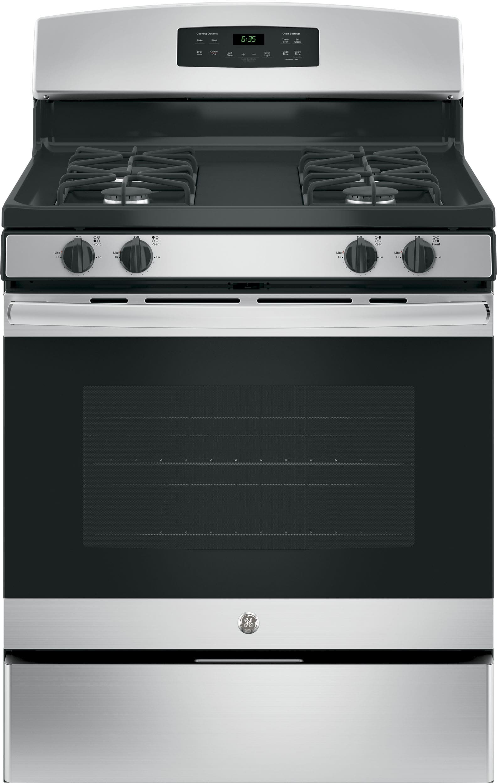 Ge Jgb635rekss 30 Inch Freestanding Gas Range With Precise