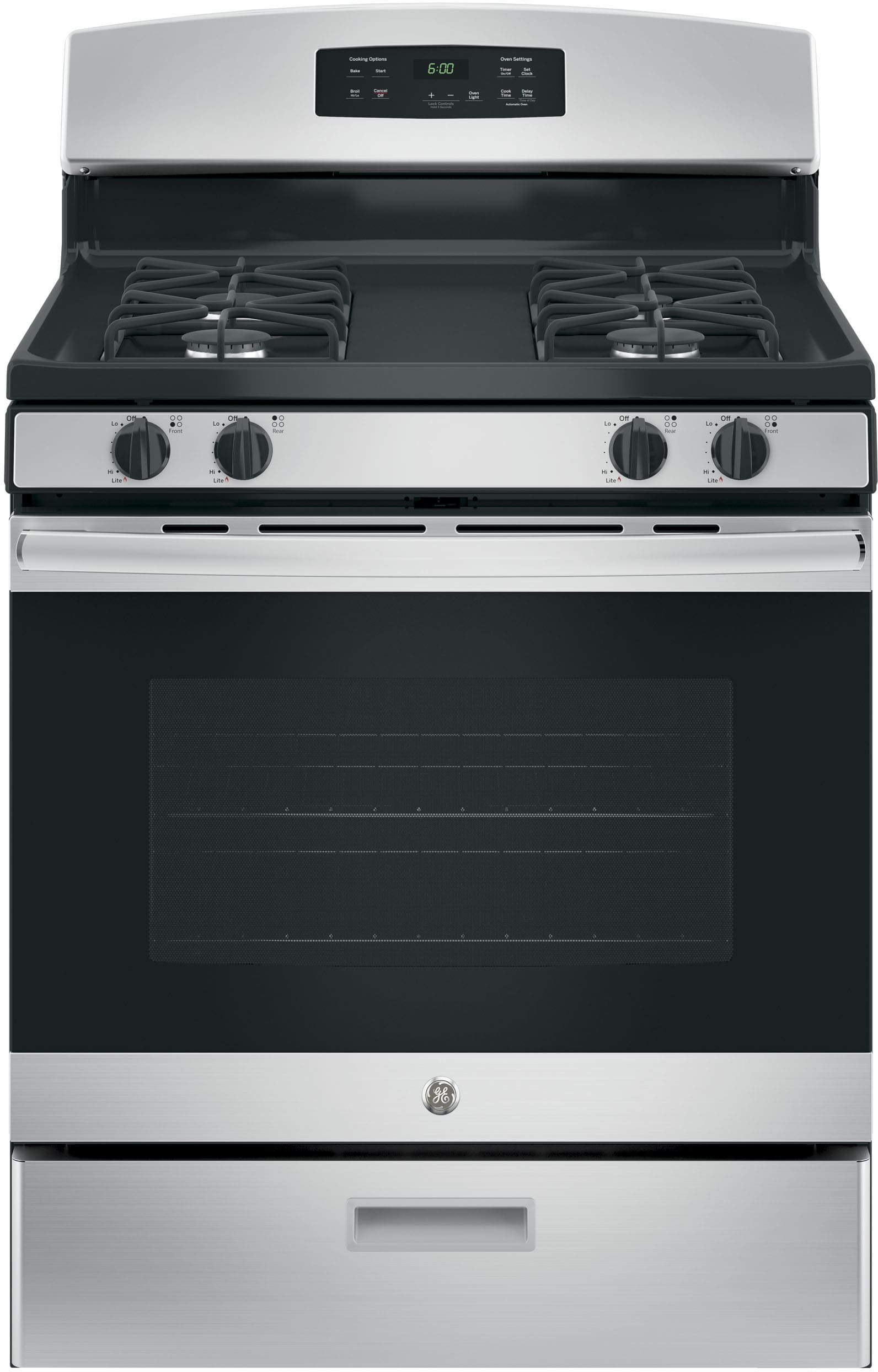Ge Jgbs60rekss 30 Inch Freestanding Gas Range With Precise