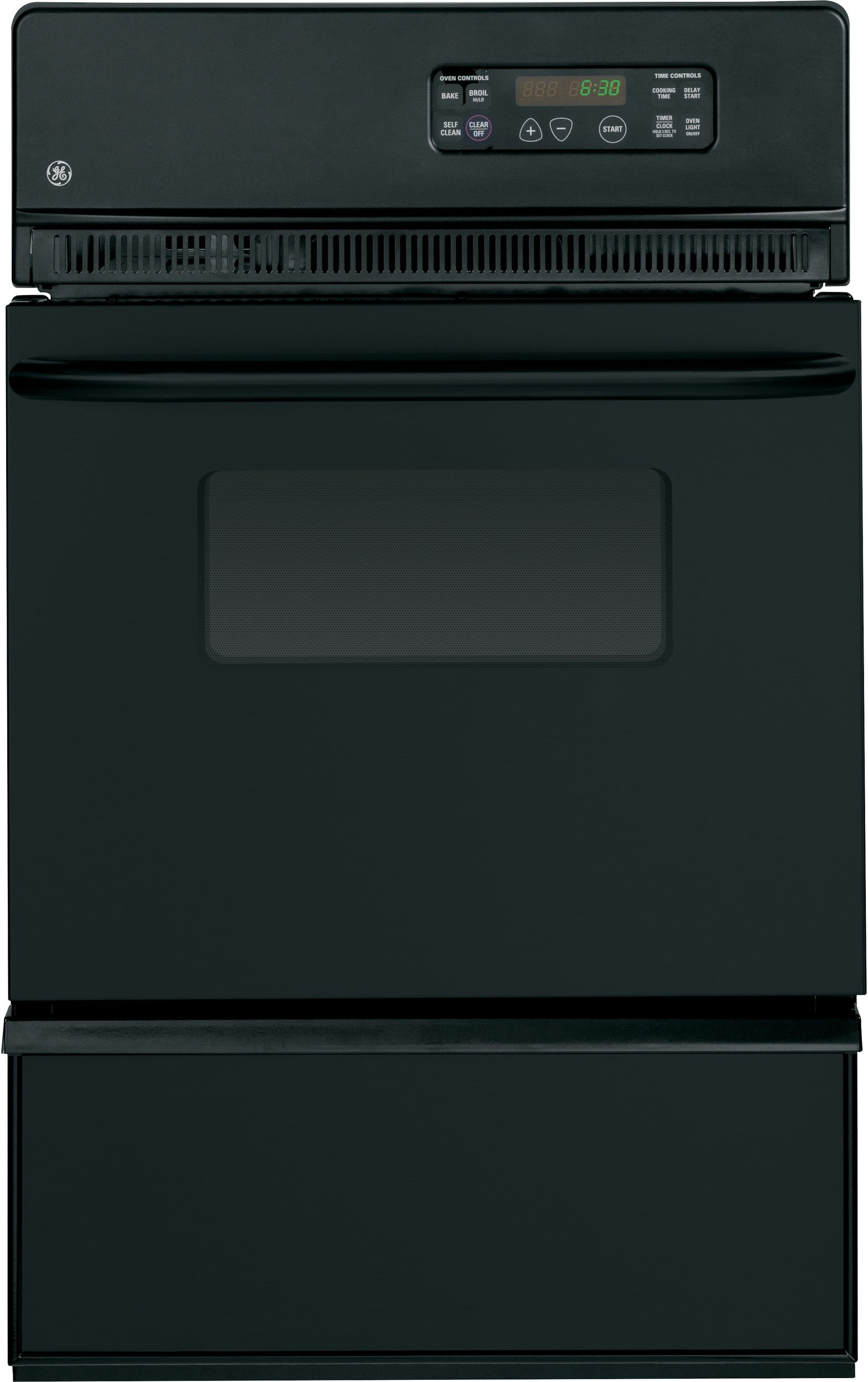 Ge Jgrp20bejbb 24 Inch Single Gas Wall Oven With 2 8 Cu