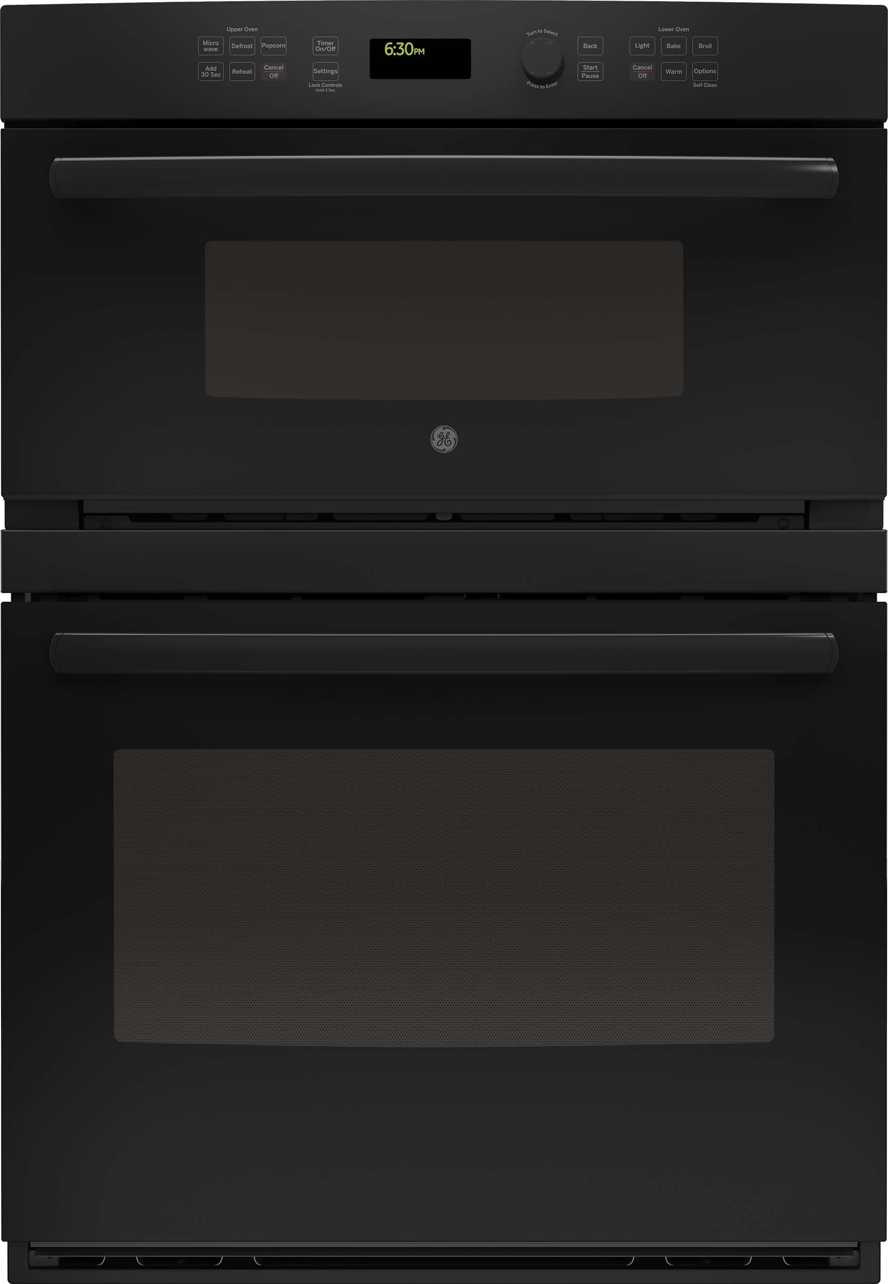 Ge Jt3800dhbb 30 Inch Combination Wall Oven With Sensor