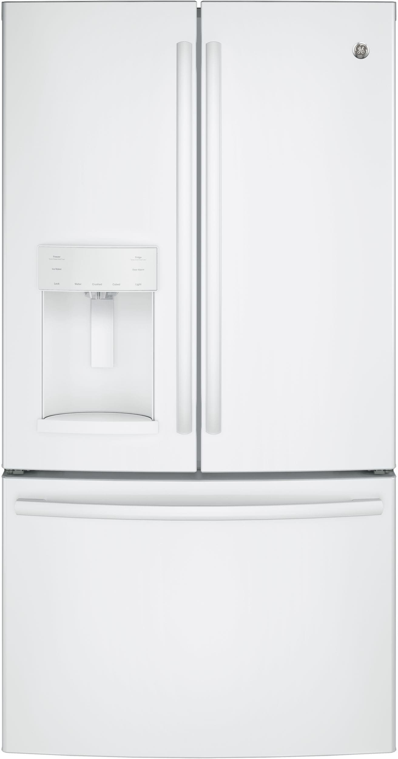 Ge Gfe26ggkww 36 Inch French Door Refrigerator With