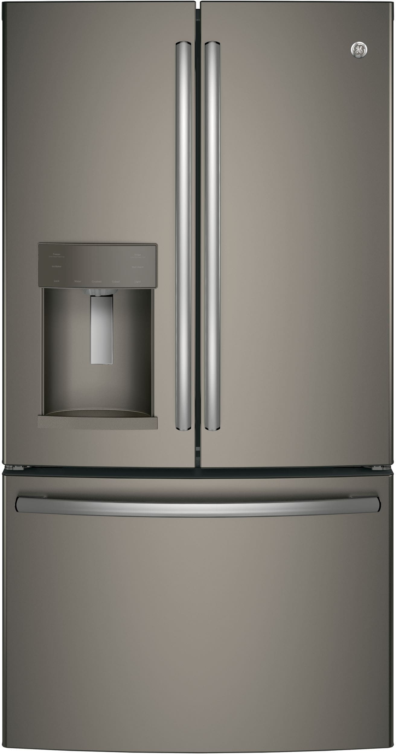 GE GFE26GMKES 36 Inch French Door Refrigerator with TwinChill