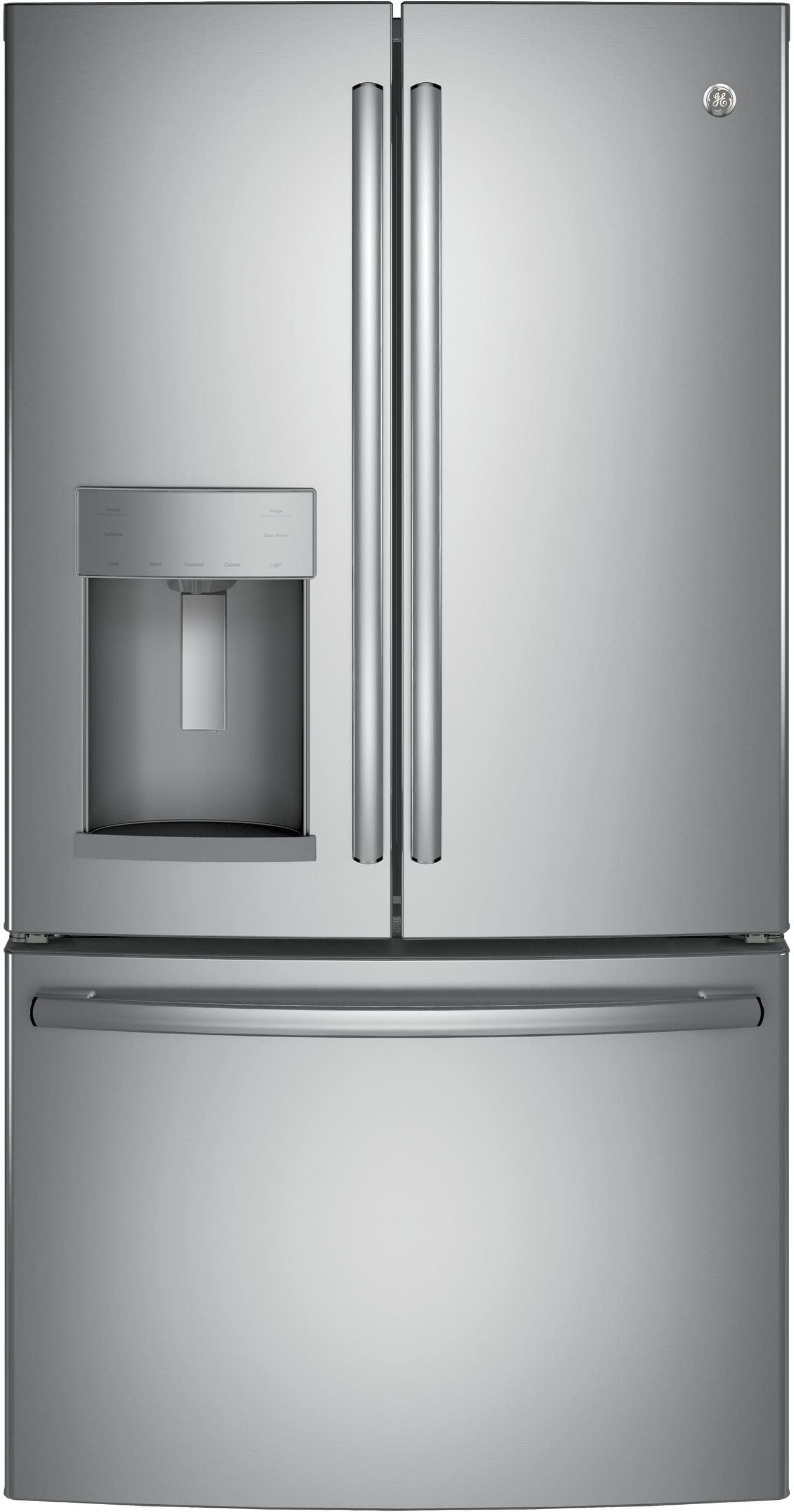 GE GYE22HSKSS 36 Inch Counter Depth French Door Refrigerator with