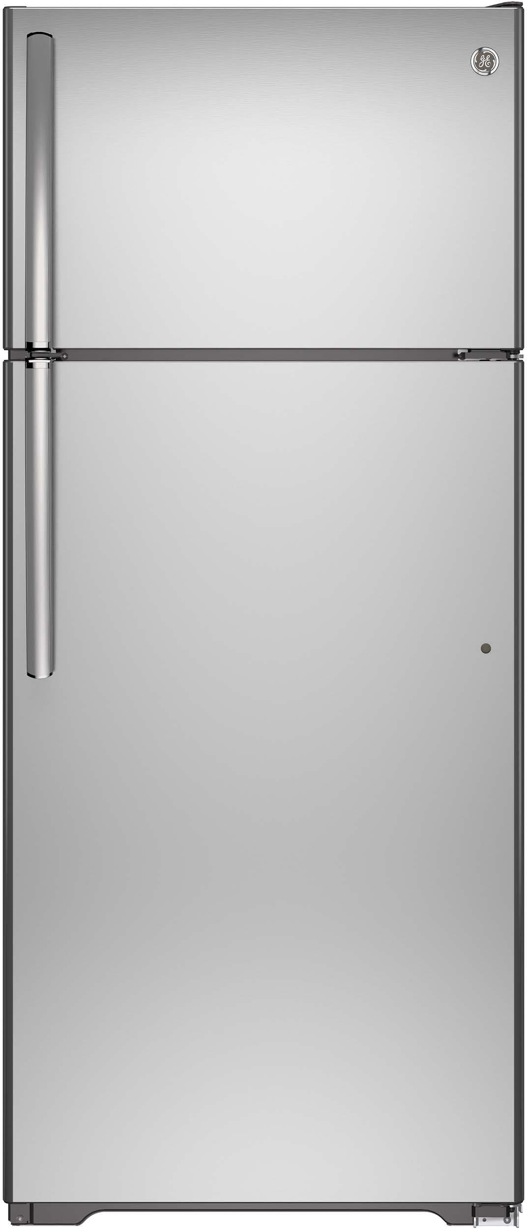 Ge Gte18gshss 28 Inch Top Freezer Refrigerator With 17 5