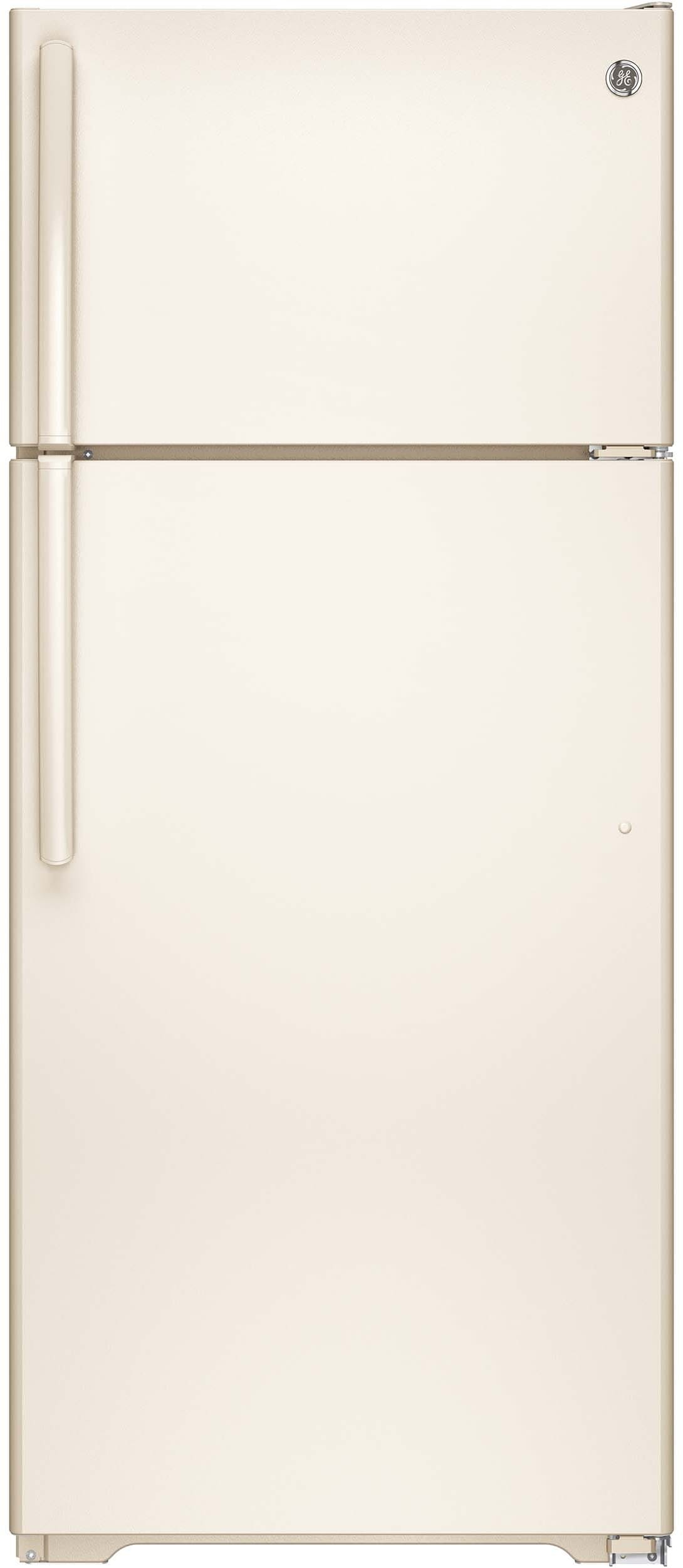 GE GTE18GTHCC 28 Inch Top Freezer Refrigerator with 17 5 cu ft