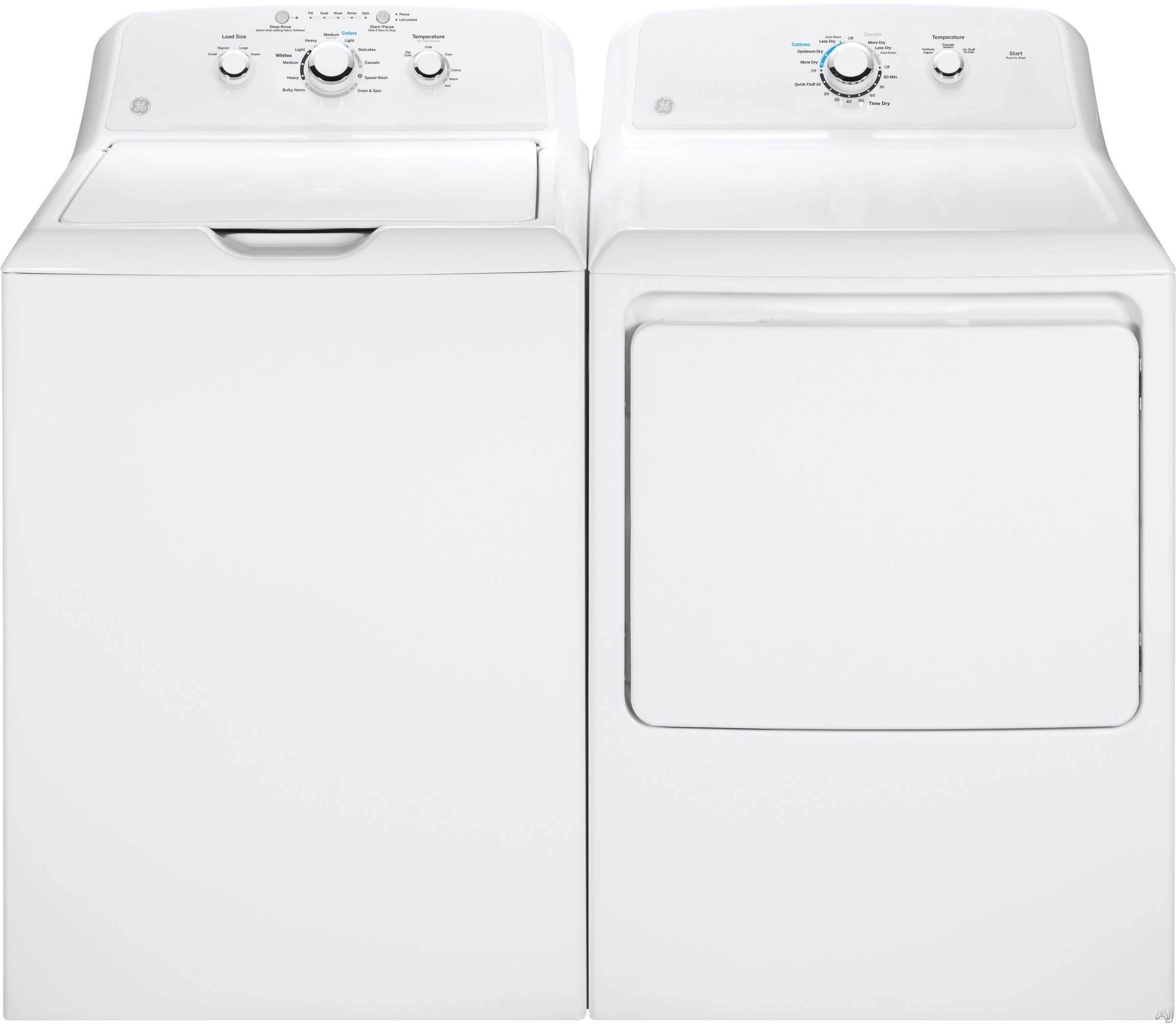 B C Washer ~ Ge gewadrew side by washer dryer set with top