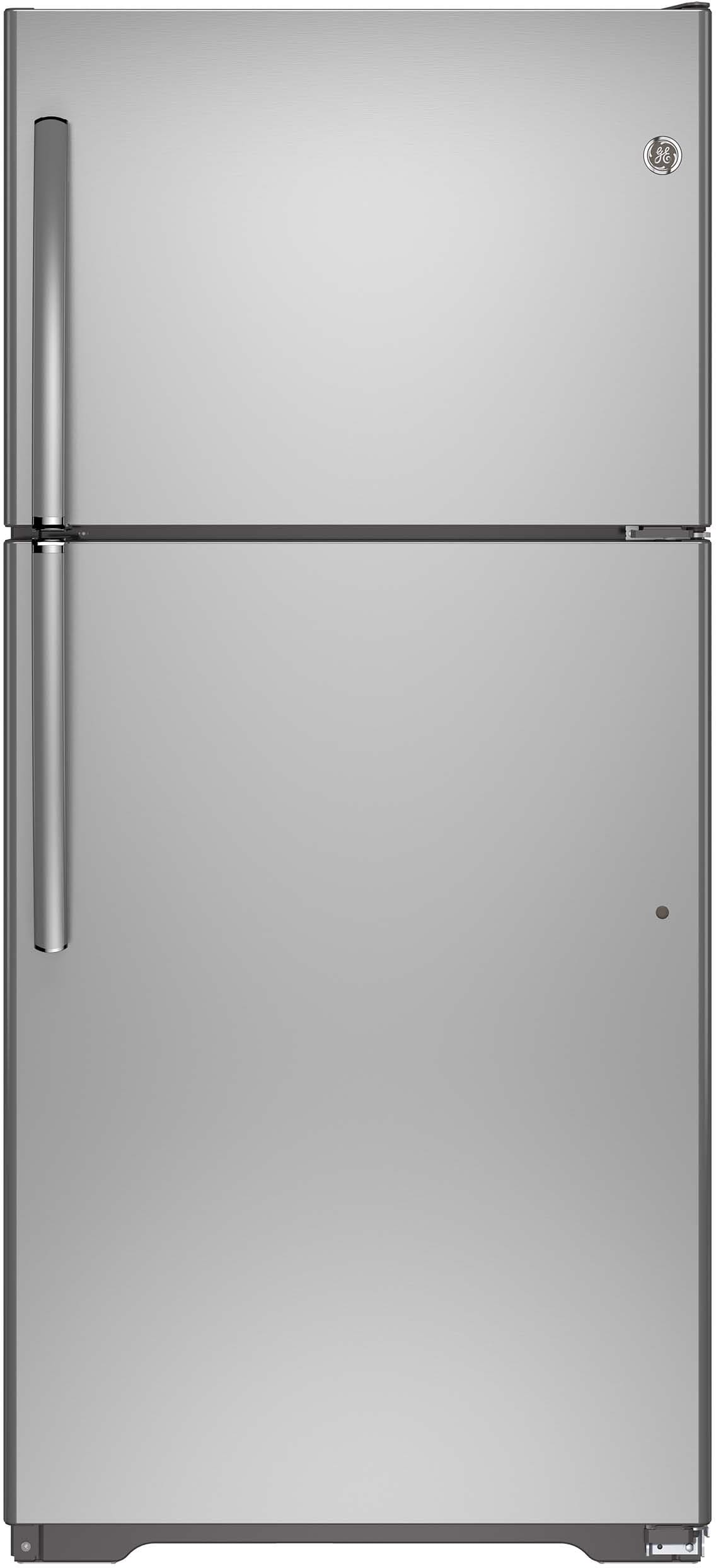 Ge Gie18ishss 30 Inch Top Freezer Refrigerator With 18 2
