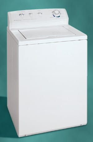 frigidaire top load washer manual