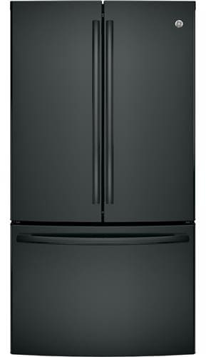 Ge Gne29ggkbb 36 Inch French Door Refrigerator With Twinchill