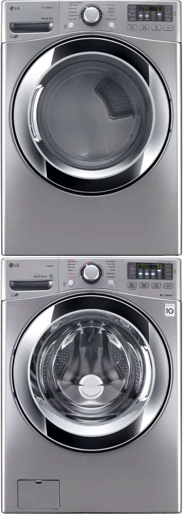 Lg Lgwadregs2 Stacked Washer Amp Dryer Set With Front Load