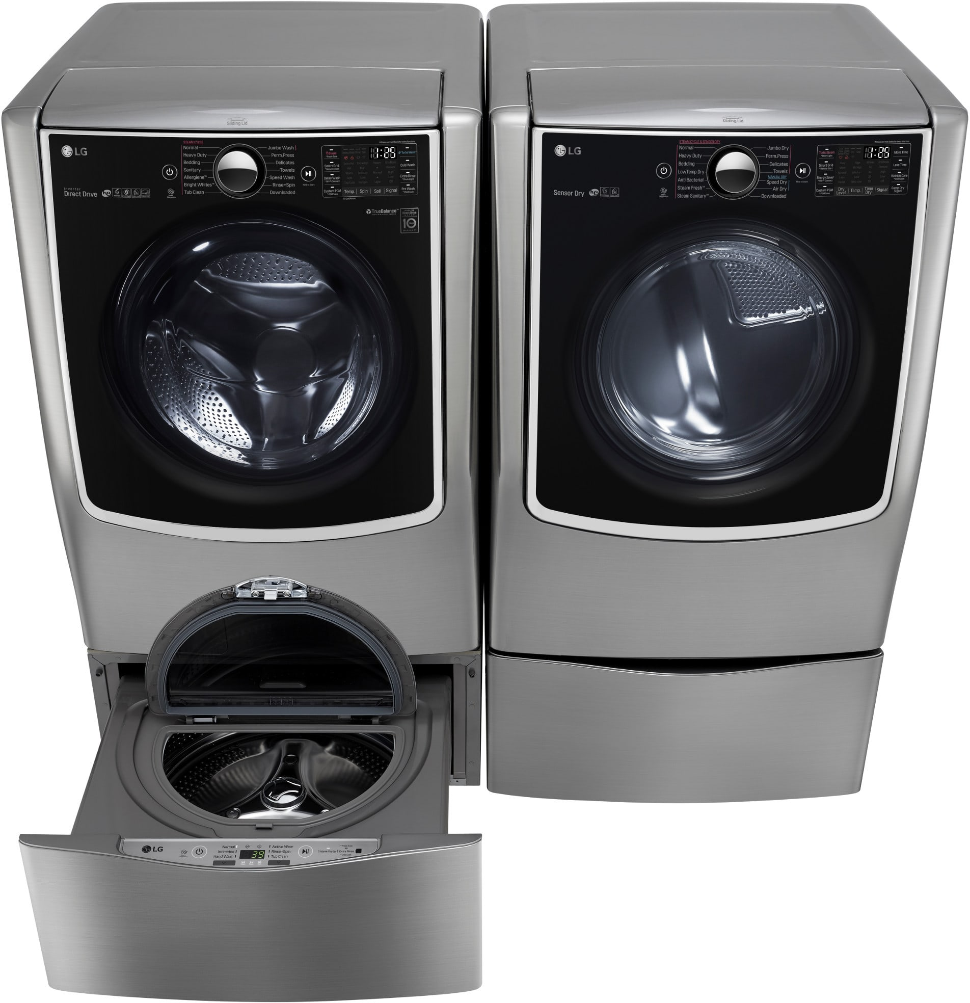lg front load washer instructions