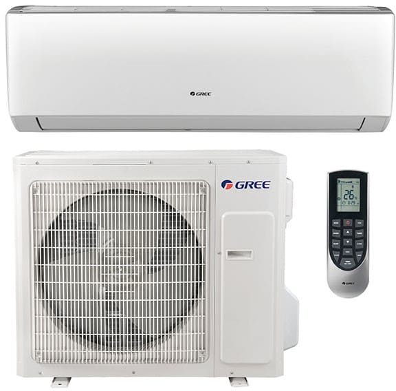 carrier ductless. gree vireo series vir36hp230v1a - high-wall ductless air conditioner \u0026 heating system carrier