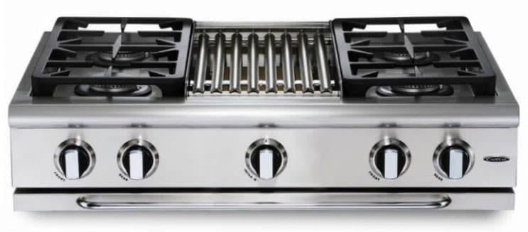 capital grt364b 36 inch gas rangetop with 4 sealed burners