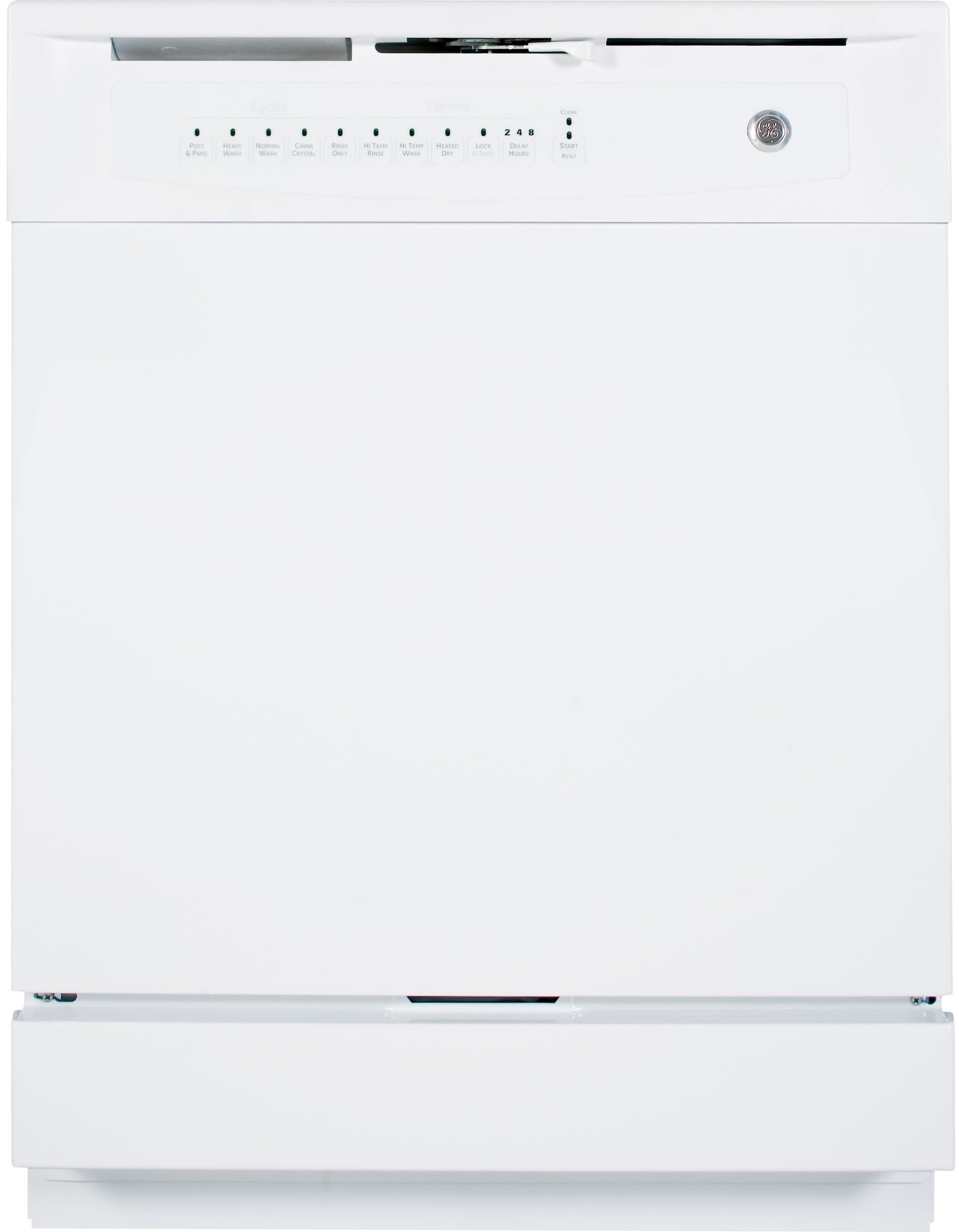ge gsd4000kww full console built in dishwasher with piranha hard