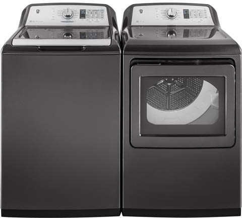 Ge Gewadrgg15 Side By Side Washer Amp Dryer Set With Top