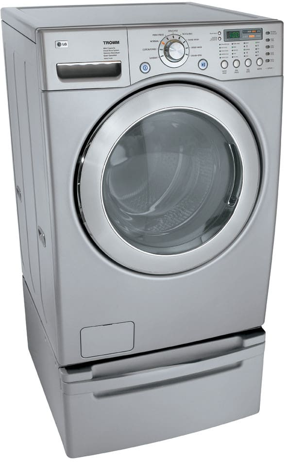 Lg Wm2277hs 27 Inch Xl Front Load Stackable Washing