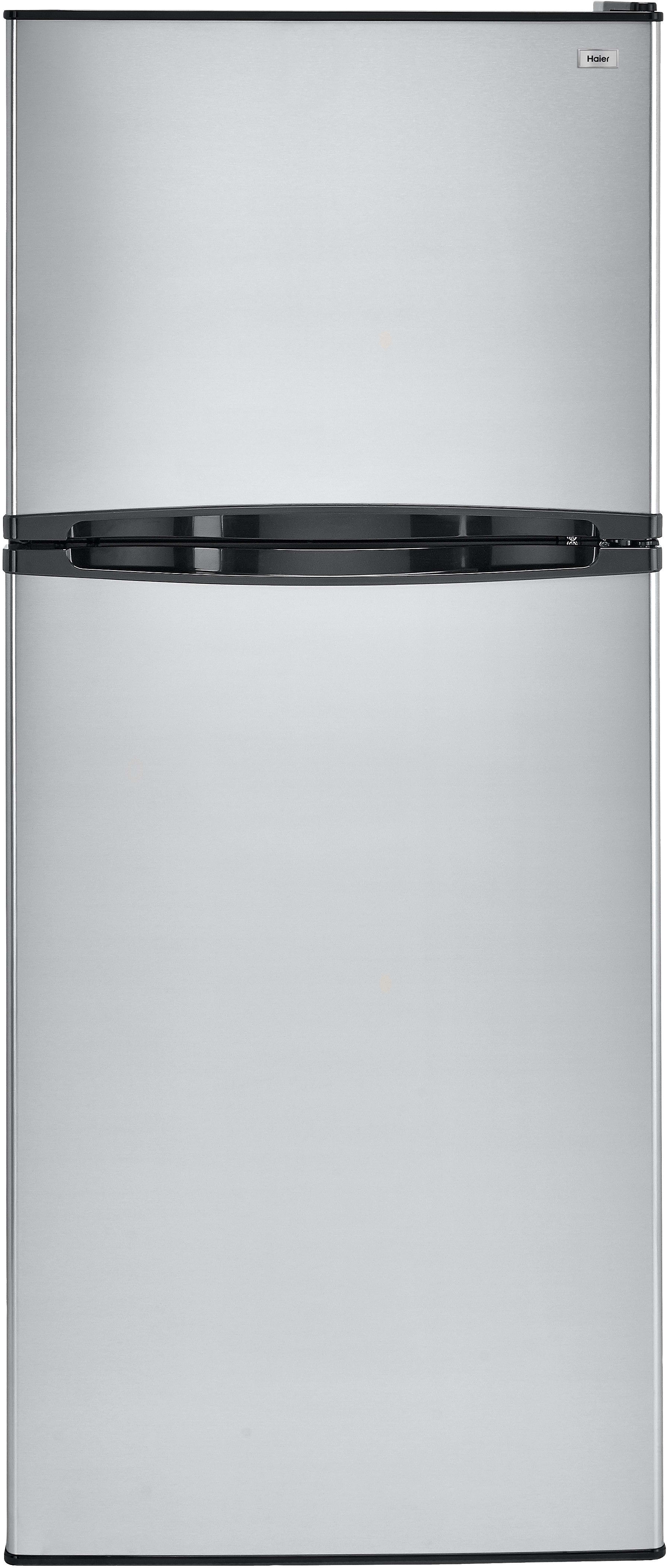 Haier HA10TG21SS 9.8 cu. ft. Top Mount Refrigerator with 2 Spill ...