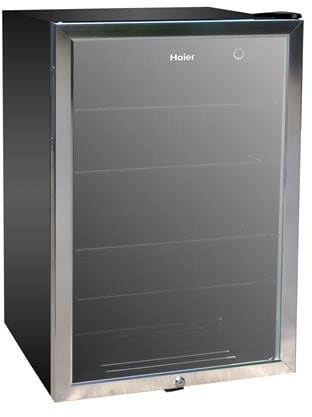 haier hebf100bxs 150 can beverage center from haier - Beverage Center