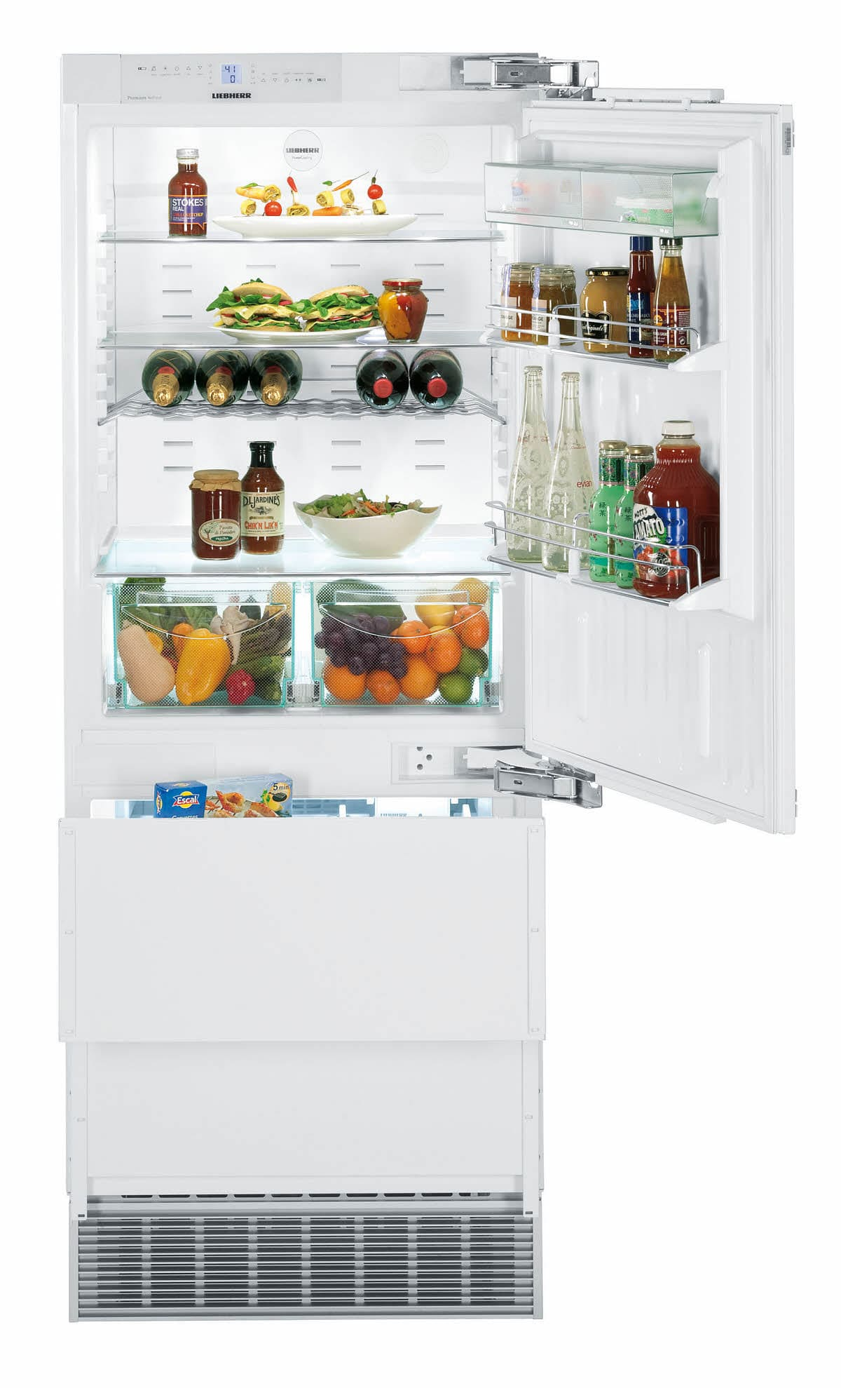 Liebherr Hc1550 30 Inch Built In Panel Ready Refrigerator