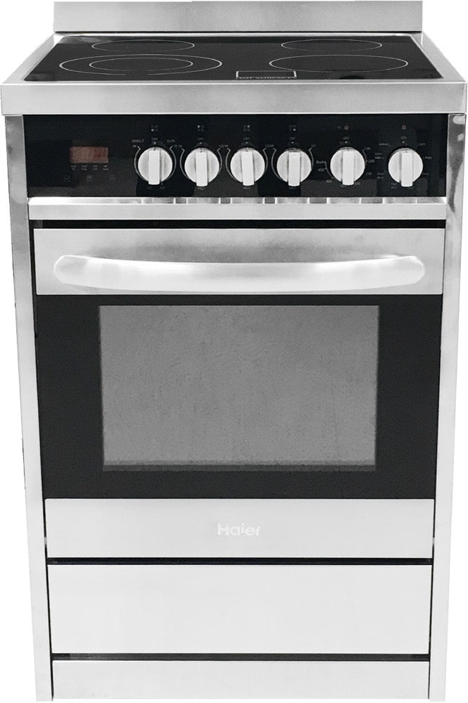 Haier Hcr2250aes 24 Inch Electric Range With European